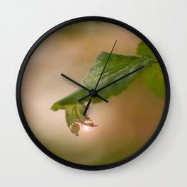 Shiny Drop n Forest #decor #buyart #society6 Wall Clock