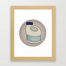 Beautiful Bleach Framed Art Print