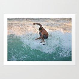 Surfs Up! Art Print