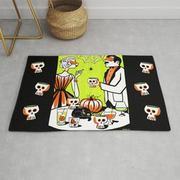The Swankiest Halloween Party Rug