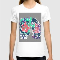 lungs T-shirts featuring Lungs by LAM Hamilton