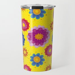 Sunny Ukraine Travel Mug