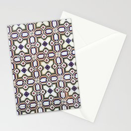 Lisbon tiles - colourful beauties Stationery Cards