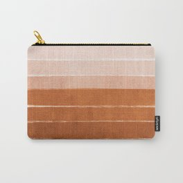 Sunset - rust, terracotta, clay, desert, sunshine, boho, ombre, paint, sunset colors,  Carry-All Pouch