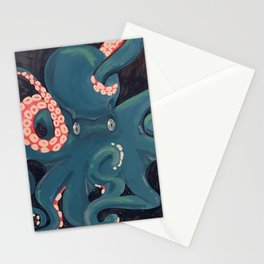 Octopus Stare Stationery Cards