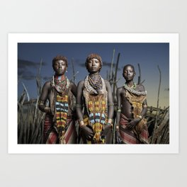 Hamer Beauty Art Print