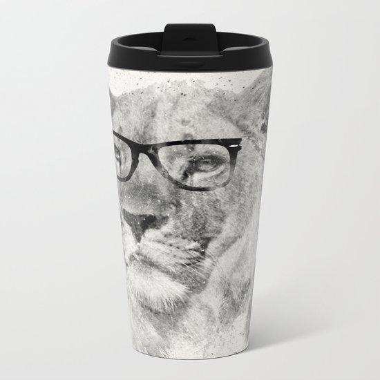 Wild Hipster Metal Travel Mug