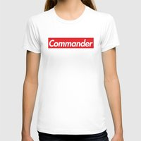 supreme T-shirts featuring supreme commander by Arielle