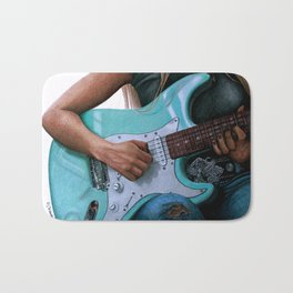 Summertime Blues Bath Mat