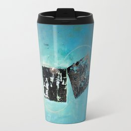 Of the Earth 2 by Nadia J Art Travel Mug