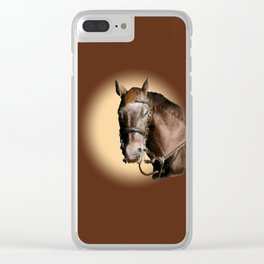 Season of the Horse - Pudding Clear iPhone Case