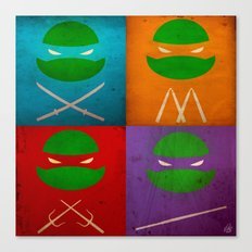 TMNT Collection Canvas Print