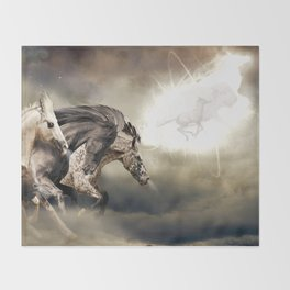 The Great Spirit Throw Blanket