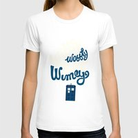 risa rodil T-shirts featuring Wibbly Wobbly Timey Wimey by Risa Rodil