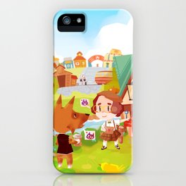 Animal Crossing iPhone Case