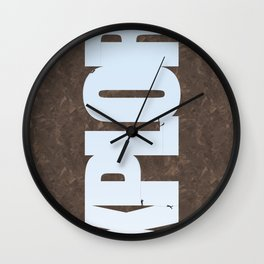 Explore Climbing 1 Wall Clock