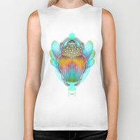 religious Biker Tanks featuring The Darkest Night Will End and the Sun Will Rise by soaring anchor designs