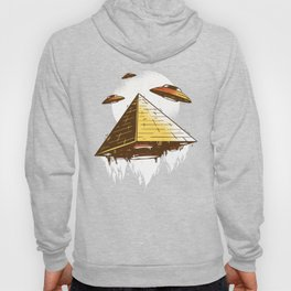Aliens UFO Built the Pyramids Hoody