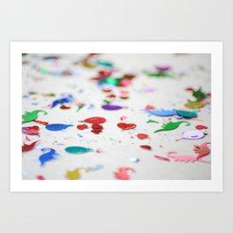 Confetti Sprinkle Art Print