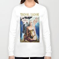 versace Long Sleeve T-shirts featuring G.U.Y VERSACE GODDESS by CARLOSGZZ
