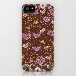 Flower Garden 3 iPhone Case