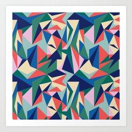 Broken Origami I Art Print