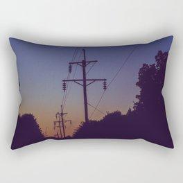 Powerlines Rectangular Pillow
