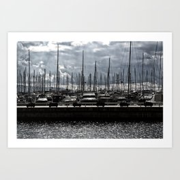 bodrum d-marin Art Print