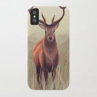elk iPhone & iPod Cases featuring ELK by Juliana Vidal