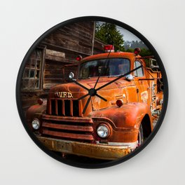 Rusty Wall Clock