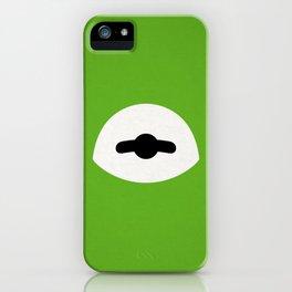 Kermit Bein' Green iPhone Case