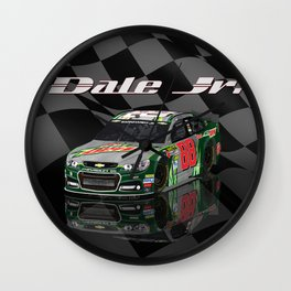 #DaleJr design. #NASCAR Wall Clock