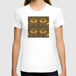 Pelican and vines T-shirt