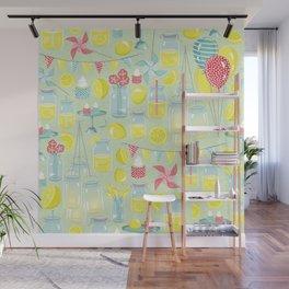 Lemonade Party Wall Mural
