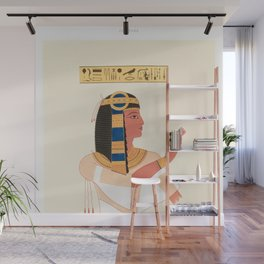 Émile Prisse d'Avennes - Portrait of Prince Mantouhichopchf from Histoire de l'art égyptien Wall Mural