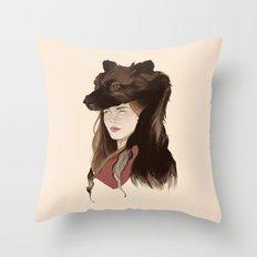 The Banshee's Crown Throw Pillow