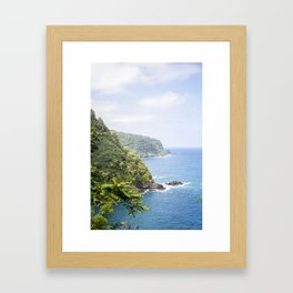 Road to Hana Framed Art Print