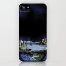 My World iPhone Case