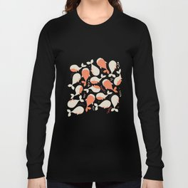 Whales 003 Long Sleeve T-shirt