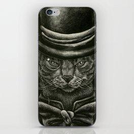 Classy Cat iPhone Skin