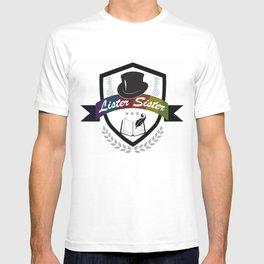 Lister Sister Crest Design T-shirt