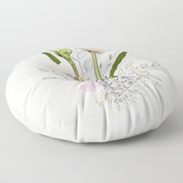Living Flowers - Tulip Floor Pillow