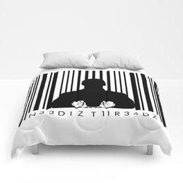 Bar code prison Comforters