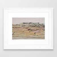 cracked Framed Art Prints featuring Cracked by SSHoward