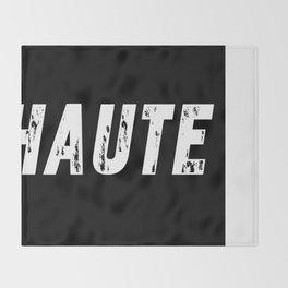 Haute (High) inverse Throw Blanket