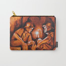 Cigarettes may kill you (orange miners on explosives) Carry-All Pouch