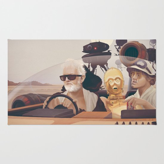 Fear and Loathing on Tatooine Rug