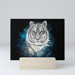 Tiger, don't stop...BE strong Mini Art Print
