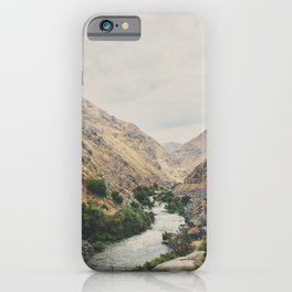 the Kern River .. iPhone Case