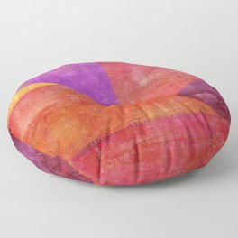 """Moksha"" Inspired by the Guillermo de Llera music. Floor Pillow"
